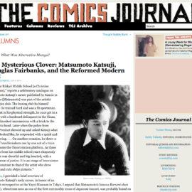 Screenshot The Comics Journal